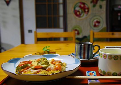 民泊体験・体験教室(料理・生花・笑いヨガなど)を通して充実した生活を目指そう!長崎の「とらいかん」が、子供・大人を問わず様々な体験をご提案いたします