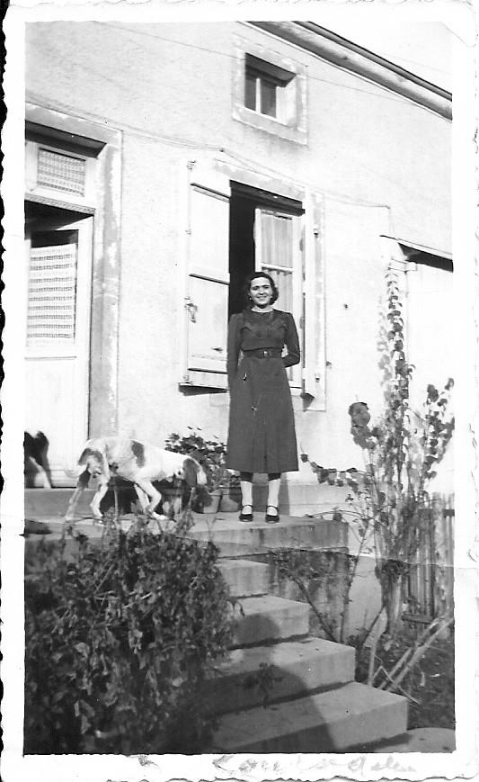 Louise Ménager, femme Rabut.