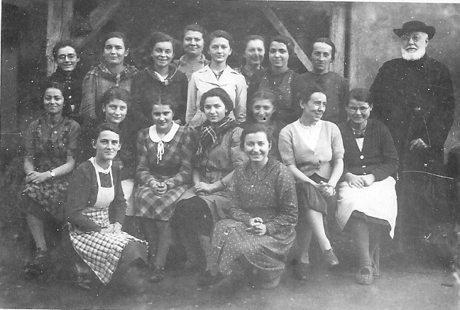 Lucienne Ducret, Hélène Mayel, Germaine Laissu, Jeanne Rabut, Hélène Béraud, Marcelle Vaillère, Adèle Durand, Germaine Marcilly, Valentine Cruchaudet, Henriette Duparay...