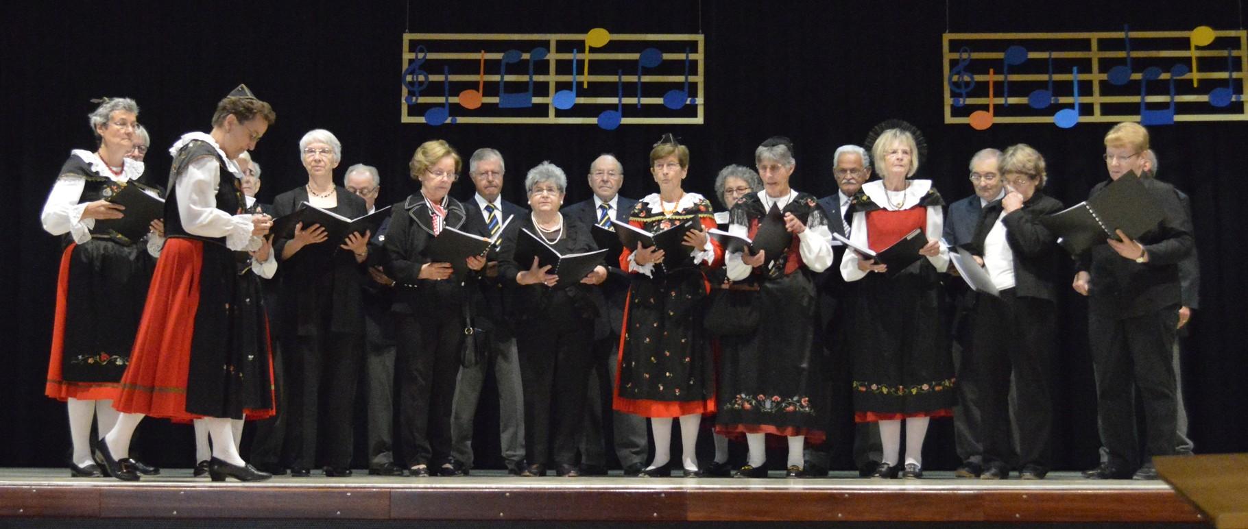 Chor viril rumantsch und Bündner Gemischter Chor Bern