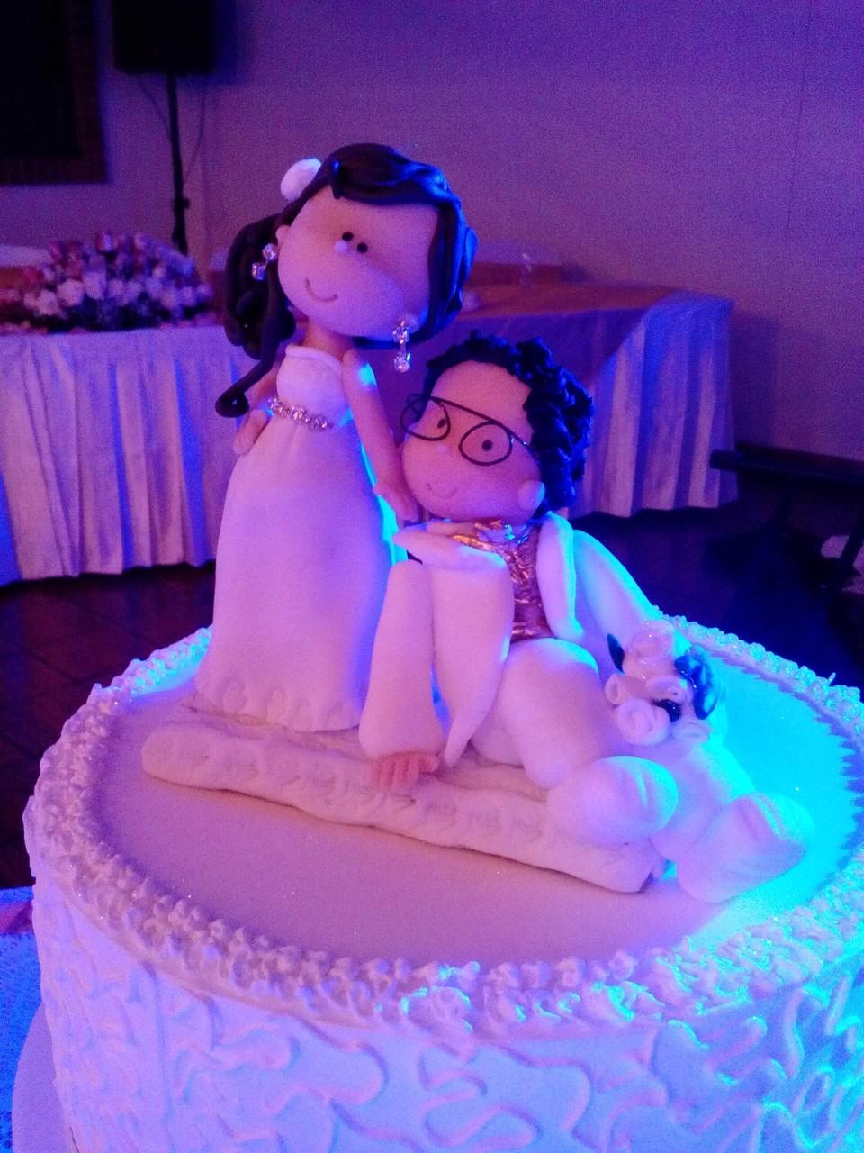 muñecos ponqué matrimonio Cajicá