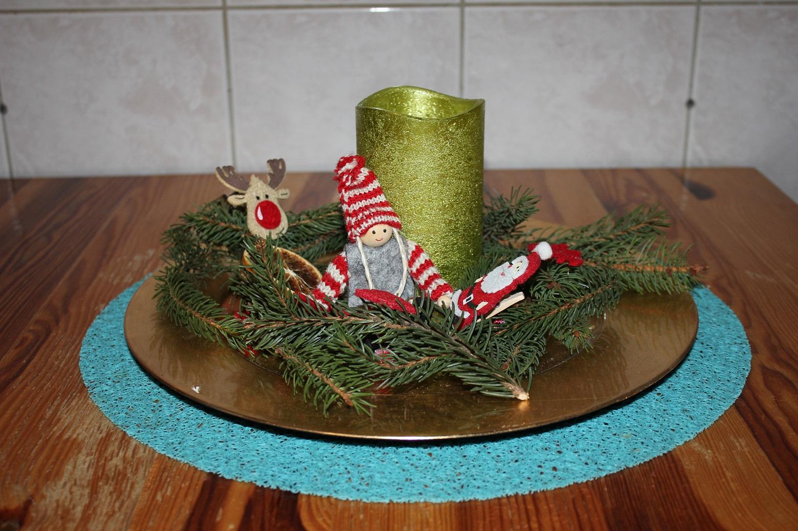 Weihnachtsdeko Küche
