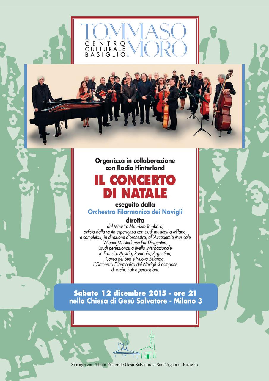 Locandina del concerto