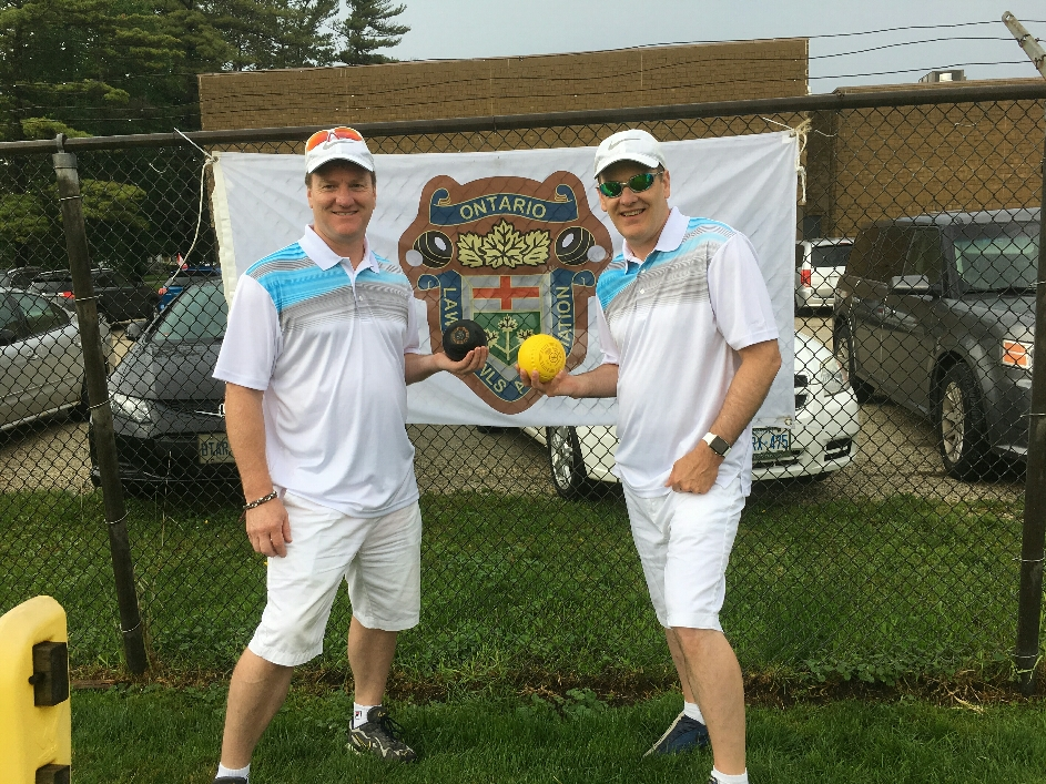Mark and Cary at the OLBA Pairs Championships