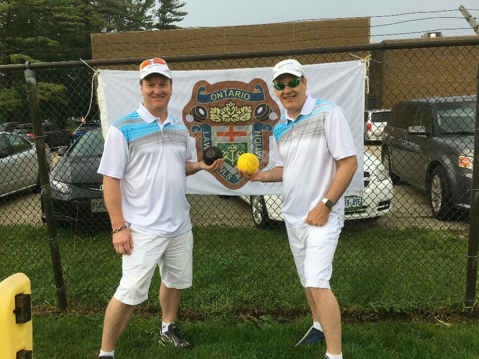 Mark and Cary at the OLBA Pairs Championships