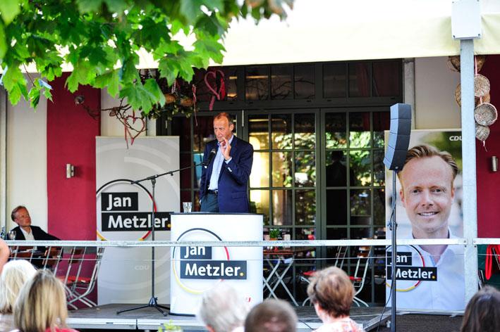Friedrich Merz: Jan Metzler macht seit zwei Wahlperioden einen tollen Job!