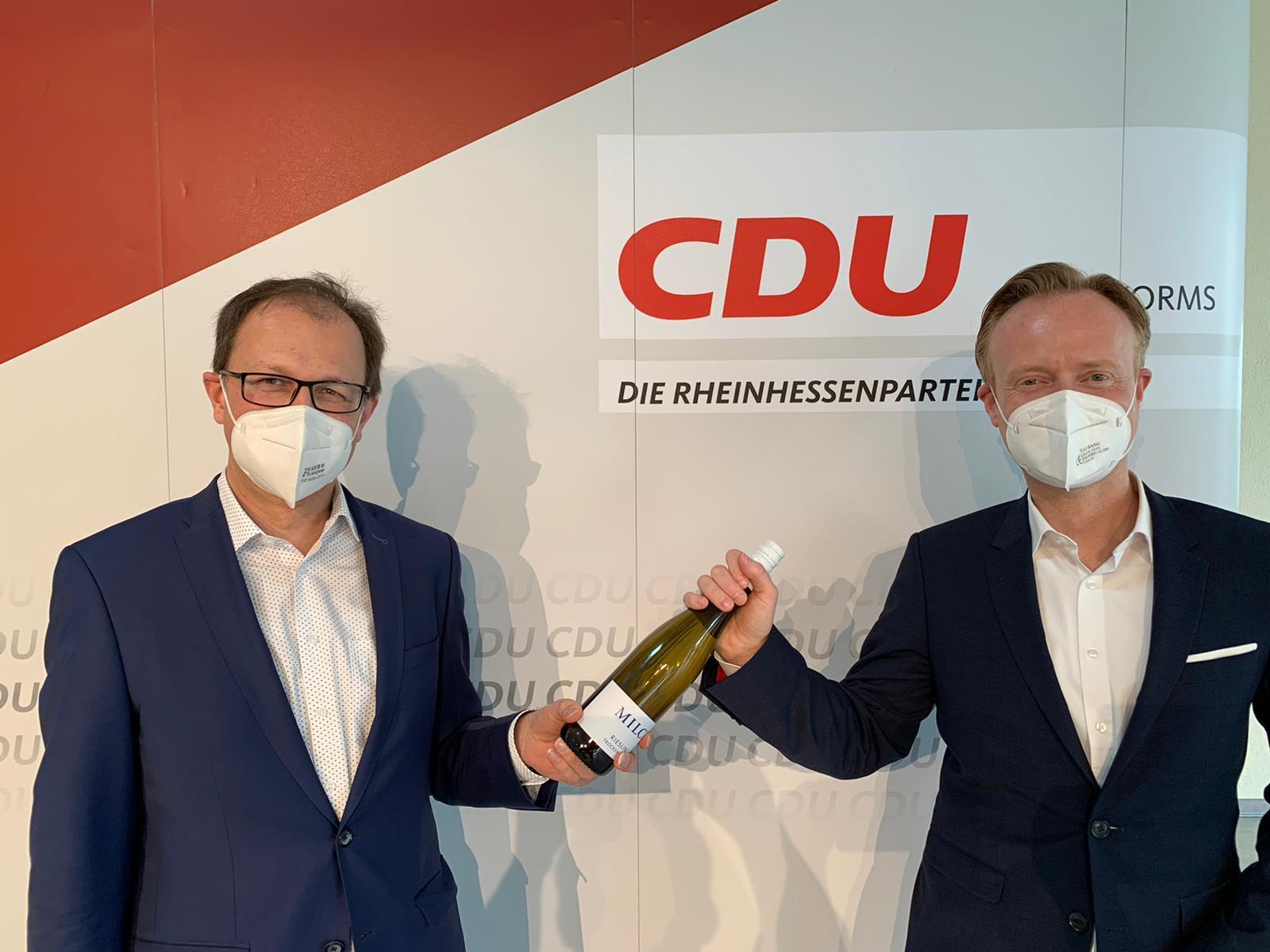 MdB Jan Metzler mit 100 Prozent wieder als Direktkandidat für Rheinhessen nominiert