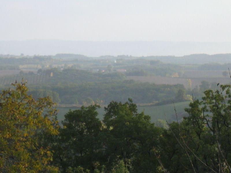 Chambres d'hôtes Le Pré Joli à Cancon - La vue sur les collines