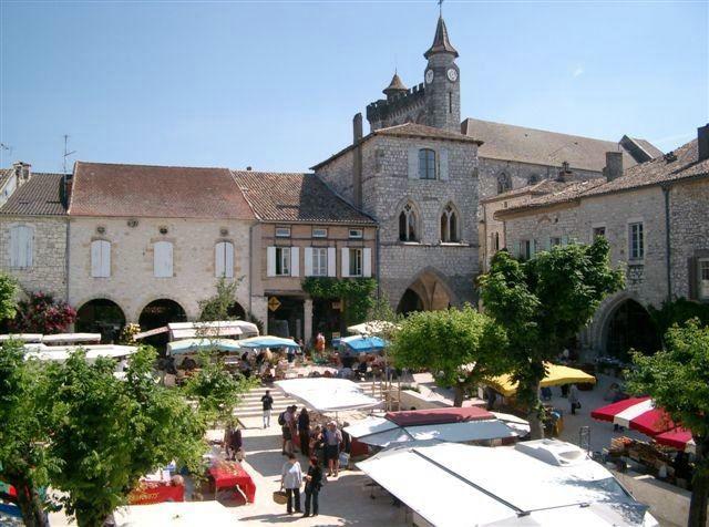 Lot-et-Garonne - La bastide de Monflanquin