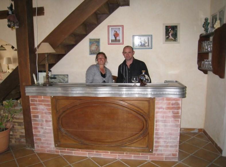 Chambres d'hôtes Le Pré Joli à Cancon - Le bar