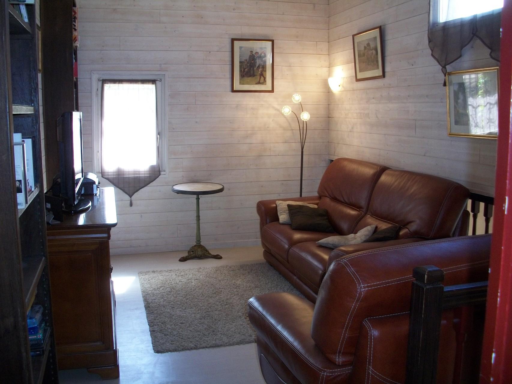 Chambres d'hôtes Le Pré Joli à Cancon - Le petit salon
