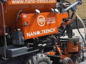 Österreichische Glasfaser Verlegung und Nano_Trench in EU gefragt