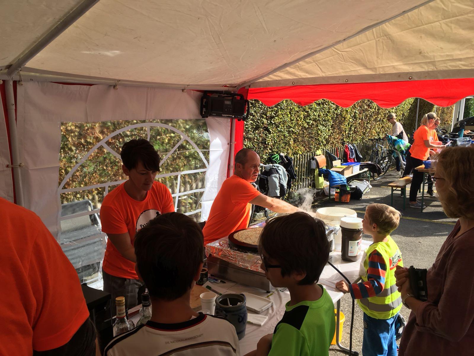 Projektgruppe Pumptrack am See, Salmsach, Sponsorenlauf