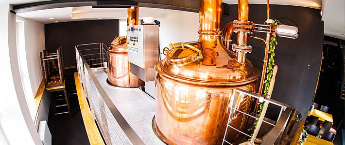 Unser Bier stellen wir nach traditioneller Methode her.