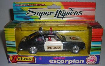 109 Ford Capri policía
