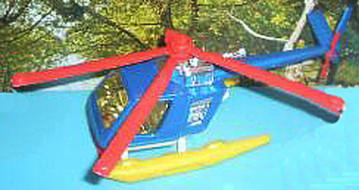 135 Helicóptero rescate