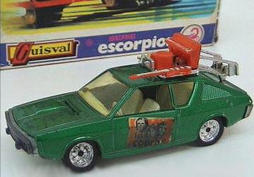 116 Renault 17 conjunto musical Los Cobras