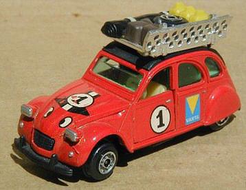 23 Citroën 2CV safari (años posteriores)