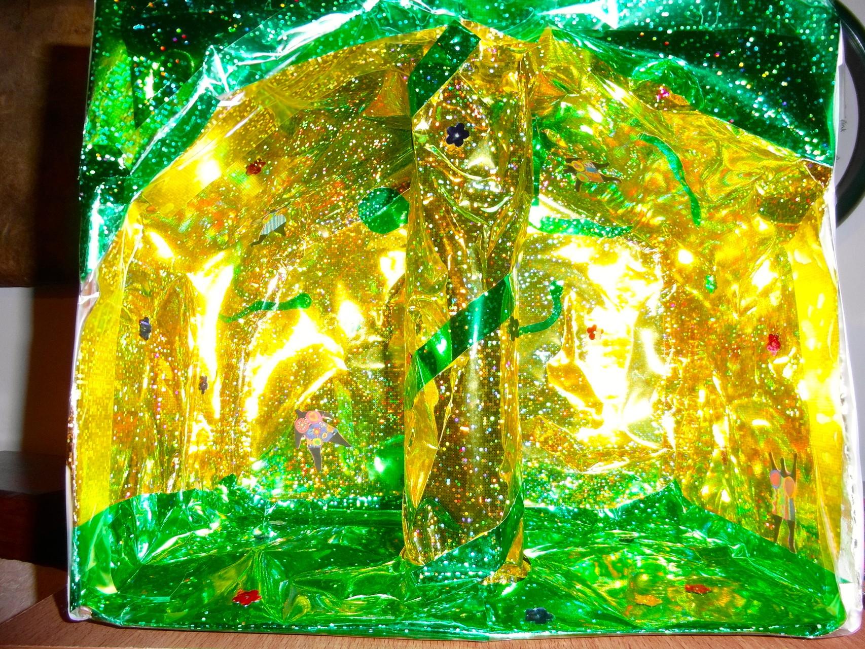 die Zauberhöhle inspiriert von Niki de Saint Phalle Kunstprojekt mit 10 Jährigen