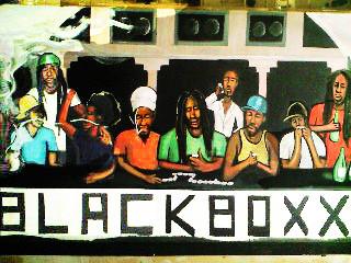 Black Boxxx Guest Room