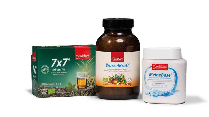 ontgiften met producten van Jentschura