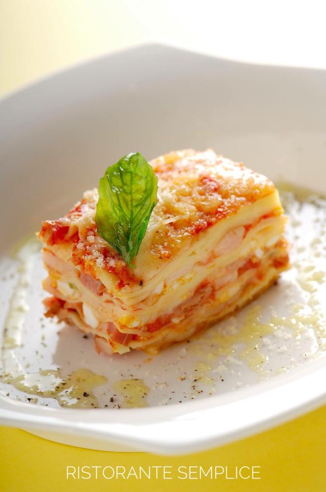 Lasagna ナポリのラザーニャ - ...