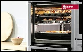 Brighton and Hove Kitchens are authorised stockists of Neff & Bosch