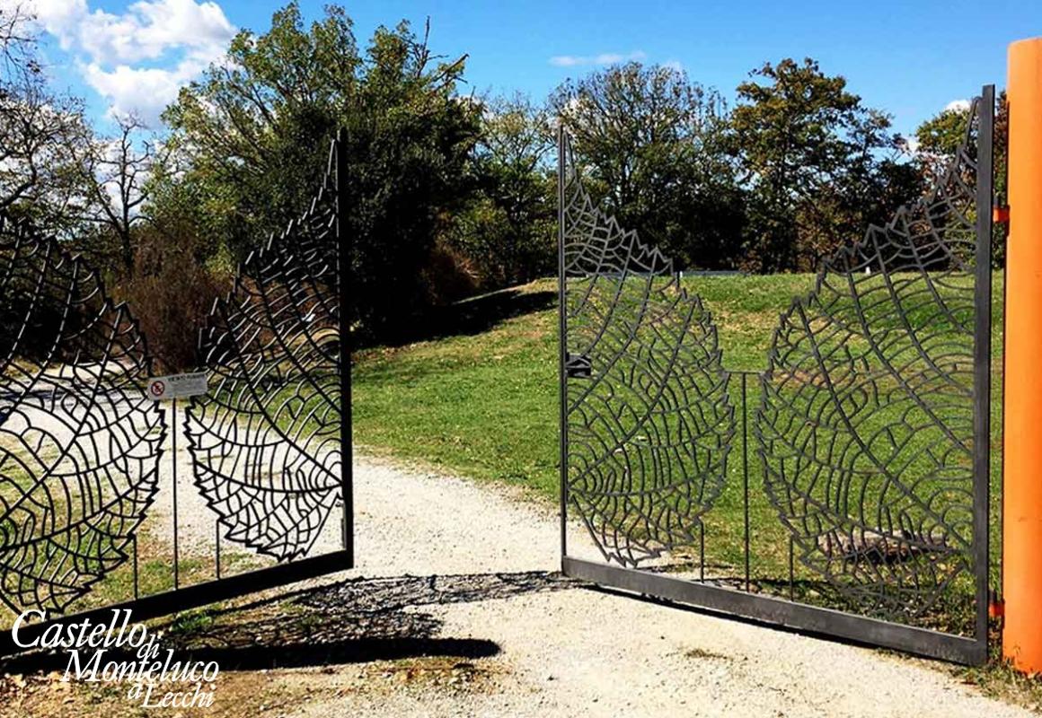 Entrata del Parco Sculture • Sculture Park entrance