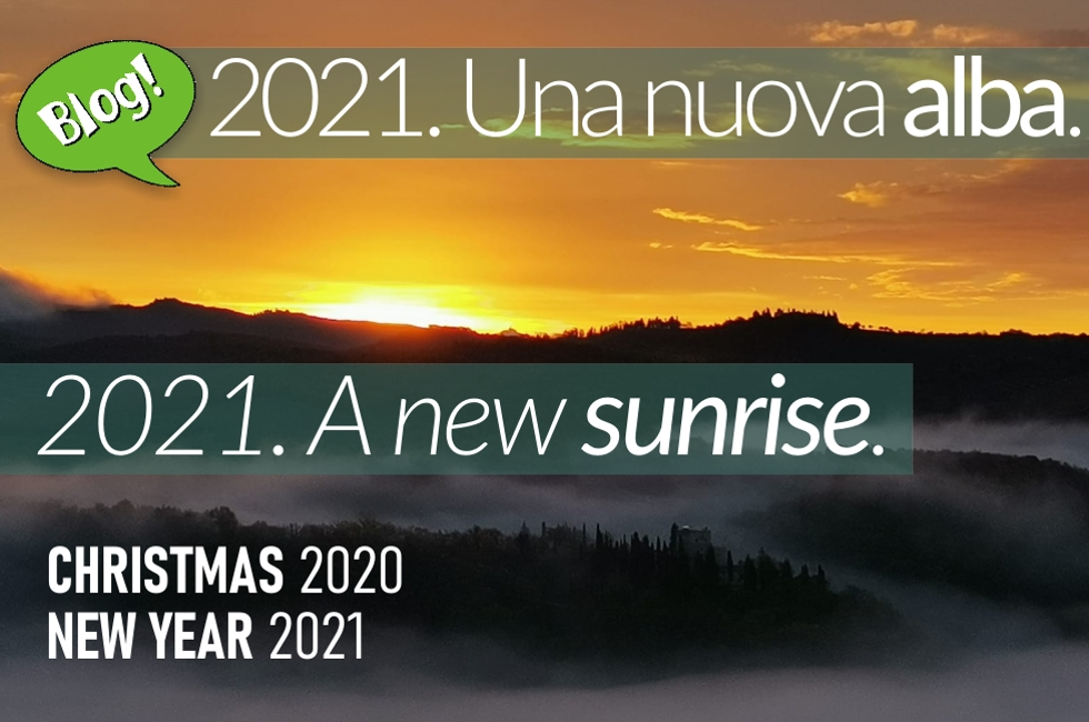 2021: una nuova «alba» • 2021 A new «sunrise»