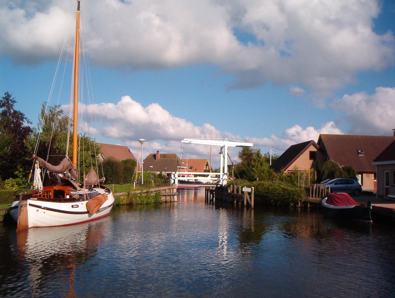 www.bungalowparkgarijp.nl - Blick aus dem Park