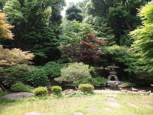 旧前田家本館和館庭園