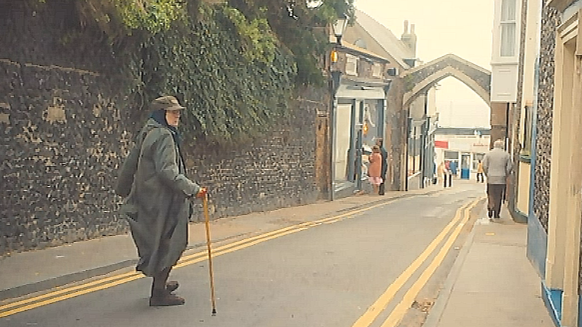 York Gate in The Lady in the Van, 2015. Image: BBC Films