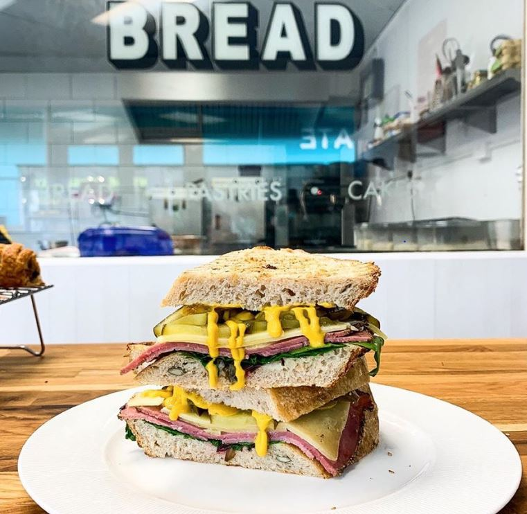 Modern Providers' much lauded Pastrami sourdough toastie. Image: Modern Provider