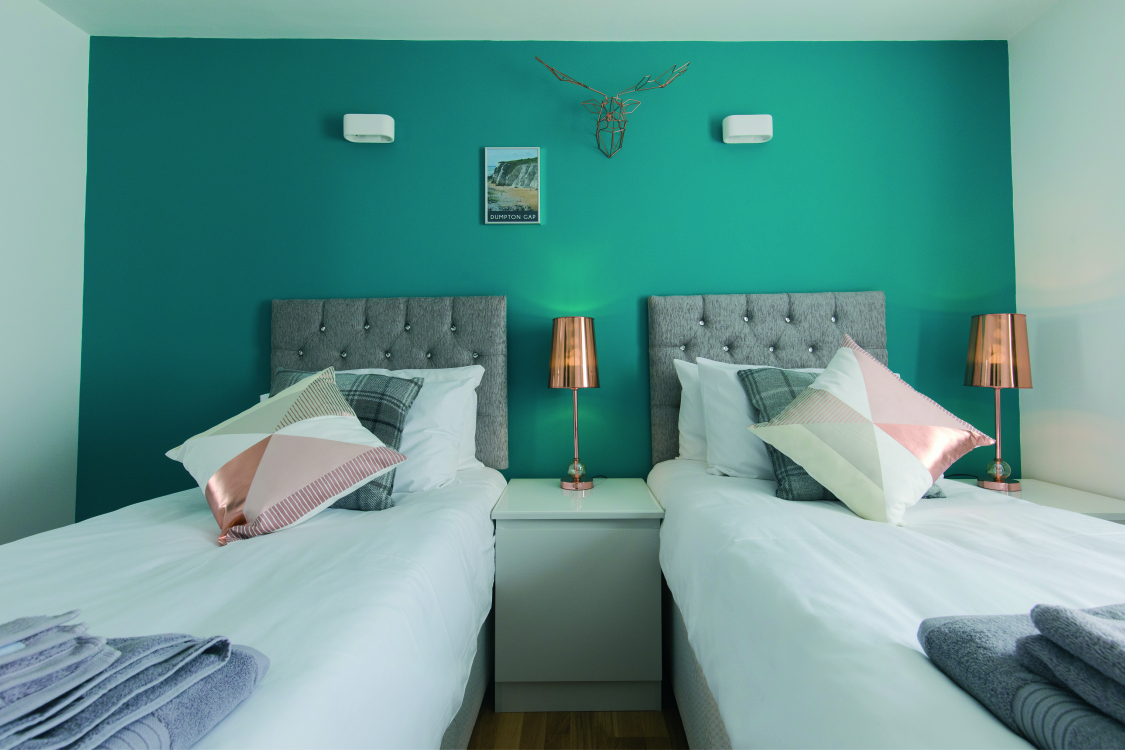 all double bedrooms can have twin beds or a kingsize double