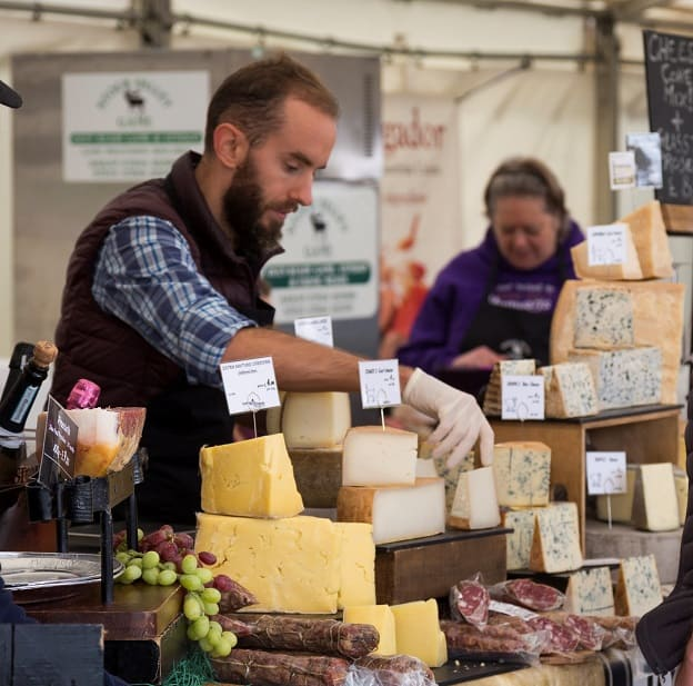Delicious Kent-produced cheese and charcuterie