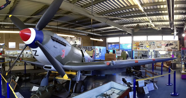 Spitfire and Hurricane Museum Manston Half Term activities blog by Broadstairs Apartments