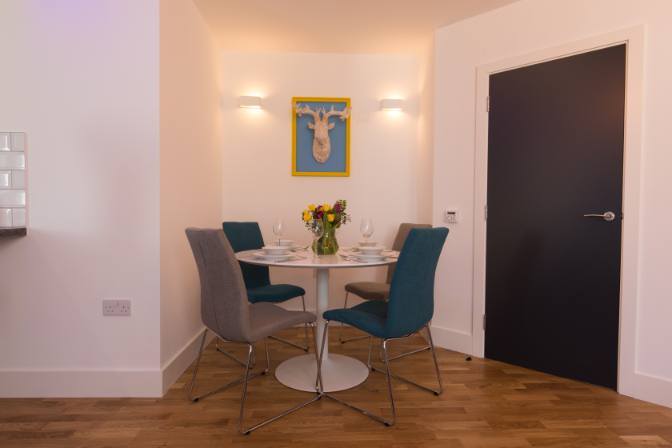 Broadstairs Apartments, View of the Palms dining area