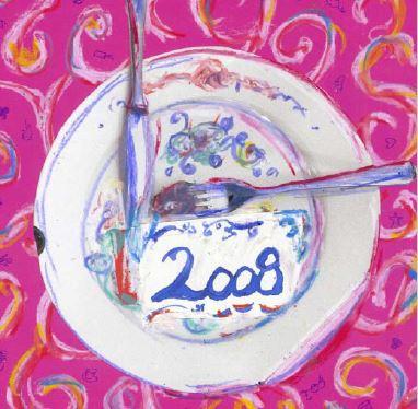Neujahrskarte 2009