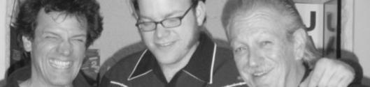 """... mit Chicago-Bluesharp-Legende Charlie Musselwhite, Grammy Winner und Blues Music Award-Gewinner 2014 (r.) und Gitarrist Christoffer """"Kid"""" Andersen (Kim Wilson, Rick Estrin)  www.charliemusselwhite.com"""