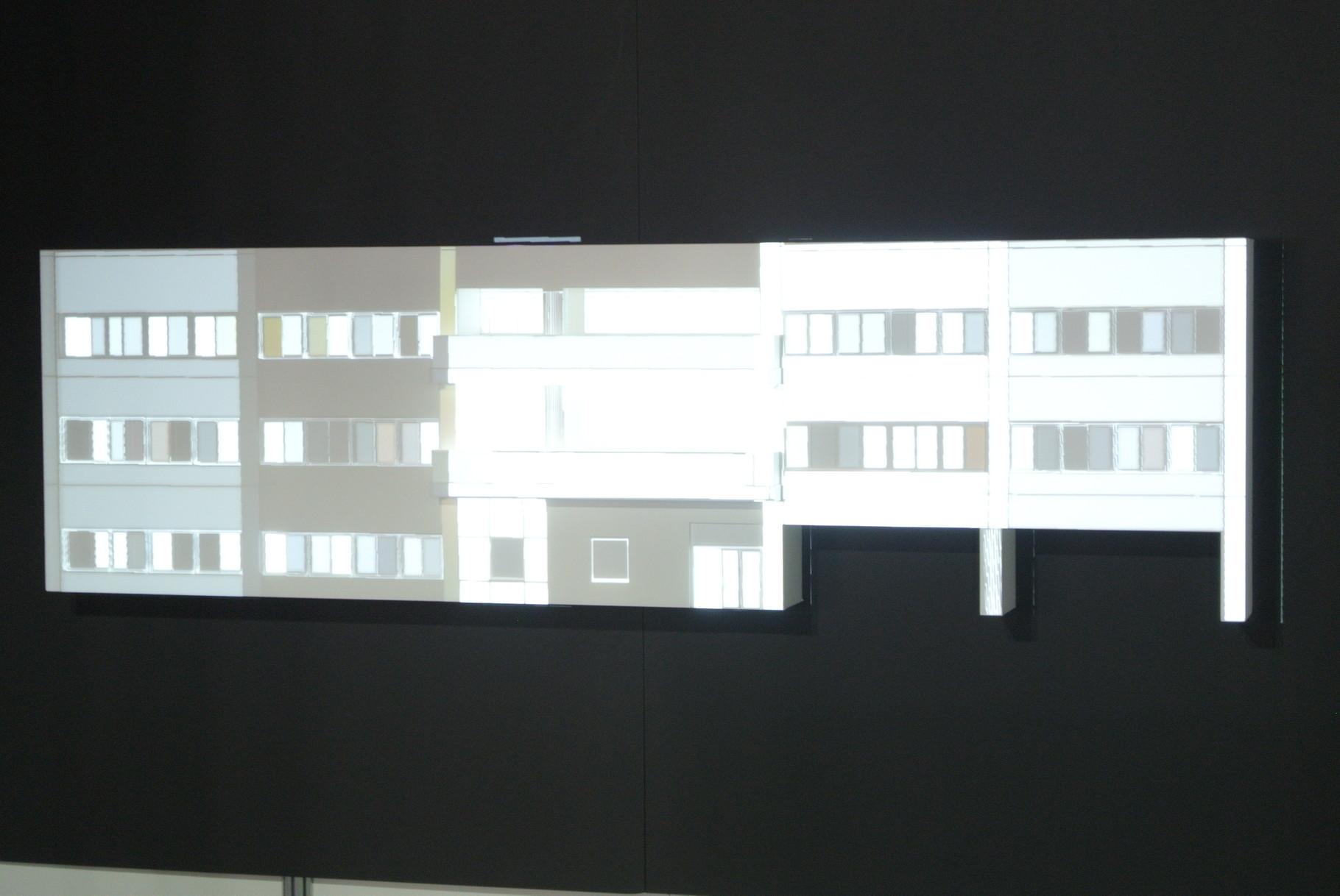 建築模型 プロジェクションマッピング模型