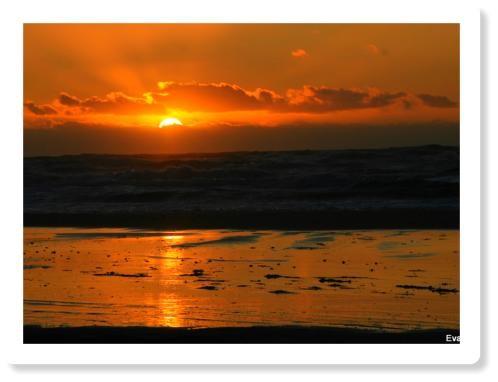 Sonnenuntergang in Tversedt