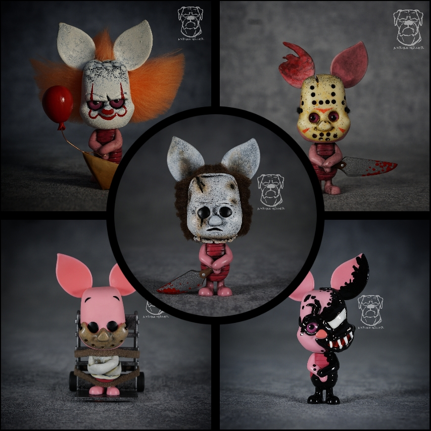 My custom Piglet Funko Pops
