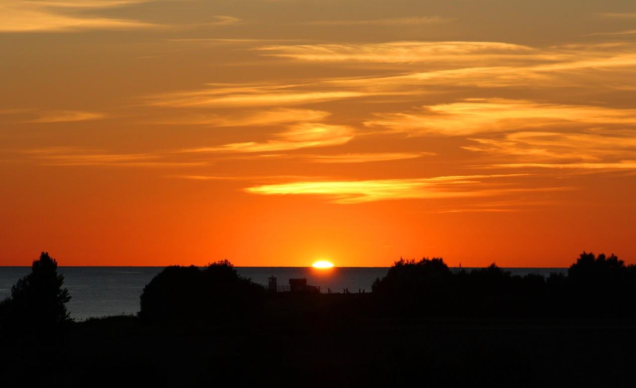Sonnenuntergang vor Strukkamphuk