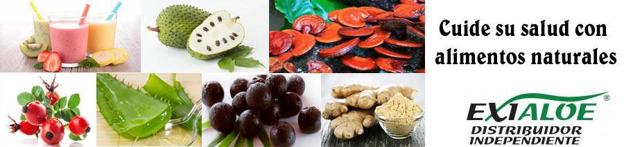 cuide su salud con alimentos naturales de nutricion y cosmetica aloefabrica exialoe