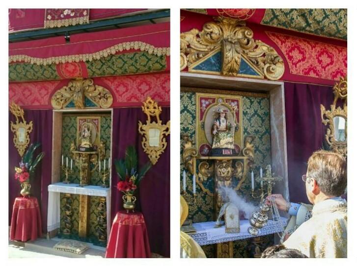 Altar de Calle de Villanueva del Ariscal. Premio Altar 2017.