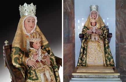 Réplica de Virgen de los Reyes (Sevilla)