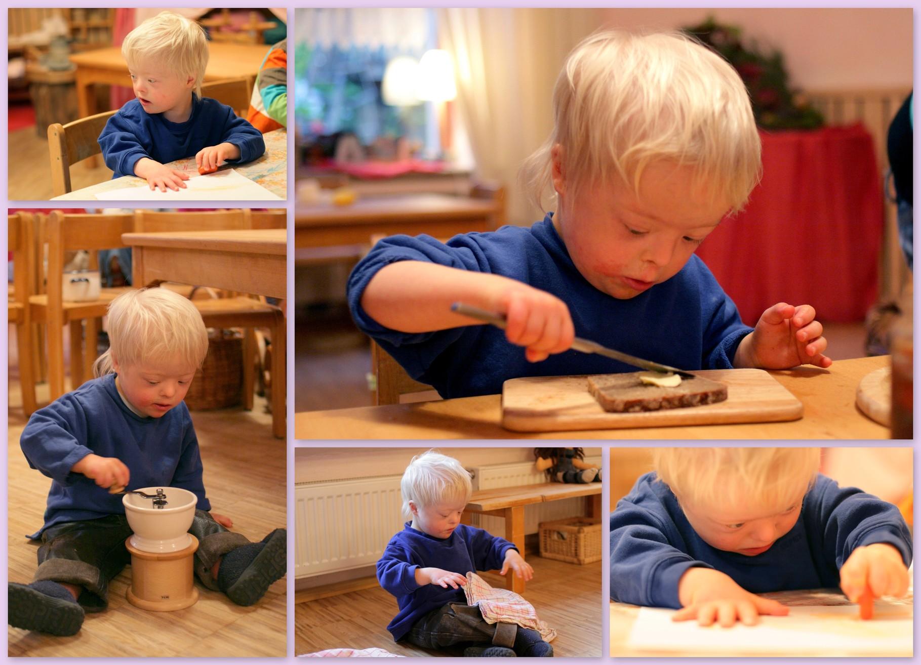 Im Waldorfkindergarten Henri Mittendrin