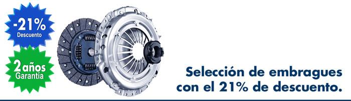 Cambiar el embrague con el 21% de descuento y dos años de garantía en taller mecánico Bosch Car Service.