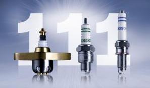 111 años de la bujía Bosch