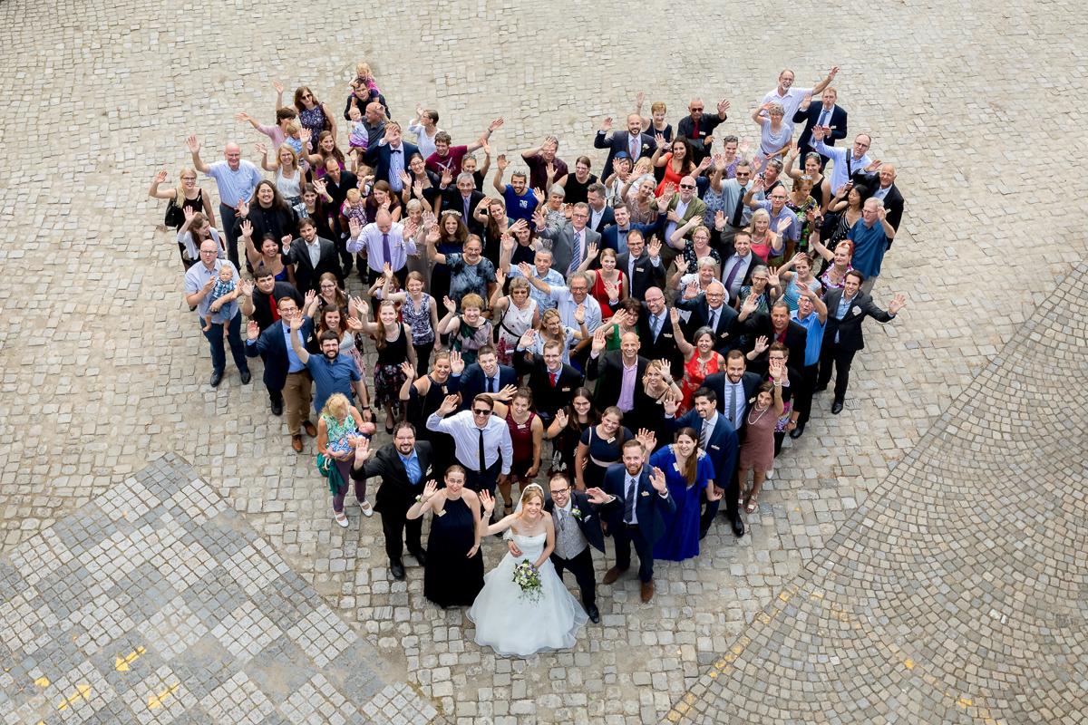 4 Tipps für gelungene Gruppenfotos an Eurer Hochzeit